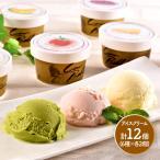 ギフト プレゼント スイーツ 北海道カウベルアイスセット 6種 計12個 洋菓子 デザート お取り寄せ SN1003-070044 送料無料 高級 バレンタイン 2021