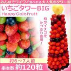 イチゴ ギフト いちごタワーBIG 誕生日 入学祝い  結婚式 フルーツ 盛り合わせ 苺 お祝い 出産祝い フルーツケーキ 宅配 送料無料