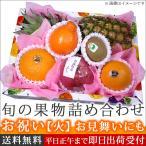 旬の果物 詰め合わせ お祝 果物 かご盛り フルーツセット フルーツバスケット 火  プレゼント お中元 御中元 ギフト 出産祝い 贈り物 通販 送料無料