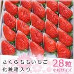 徳島県 佐那河内村産 さくらももいちご 28粒 化粧箱入り 送料無料 プレゼント 贈り物 フルーツ ギフト 果物 お見舞い イチゴ 苺 通販