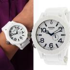 NIXON/ニクソン a236100 THE 51-30  RUBBER TIDE ラバー タイド ホワイト メンズ レディース ユニセックス 腕時計 A236-100