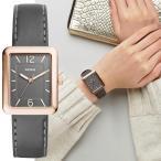 【CLUEL 2017年7月号 掲載】FOSSIL フォッシル ATWATER アトウォーター グレーレザー レディース 腕時計 ES4245