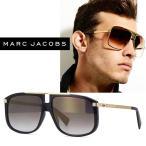 Marc Jacobs MARC243/S 02M2 FQ スクエア ブラック・ゴールド メンズ ユニセックス マークジェイコブス サングラス marc243-02m2-fq