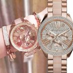 MICHAEL KORS[マイケルコース] NO.mk6096 Wren Chronograph Ladies Watch レン クロノレディース  腕時計
