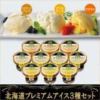ショッピングアイスクリーム ギフト 北海道プレミアム アイス3種 10個セット MNA-50 詰め合わせ 内祝 お返し お礼 お取り寄せ 北海道