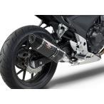 USヨシムラ R-77 スリップオン HONDA CBR400R/CB400F/400X CBR500R/CB500F/CB500X 13-15 カーボン (1250020220)