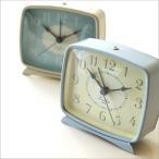 目覚まし時計 おしゃれ アナログ スイープムーブメント かわいい 置時計 置き時計 ナチュラル レトロ 北欧 連続秒針 音がしない 無音 パステルクロック2カラー
