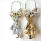クリスマス 飾り 玄関 ドアノブ オーナメント 鈴 ベル キラキラドアベル 2タイプ