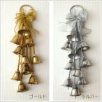 クリスマス 飾り ドアベル ドアノブ 玄関 鈴 ベルのオーナメント 2カラー
