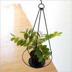 フェイクグリーン ハンギング 吊るす インテリア おしゃれ 人工観葉植物 アイアンラウンドハンギング