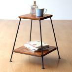スツール 木製 おしゃれ シンプル 椅子 いす イス 花台 棚 シーシャムウッドアイアンスツール