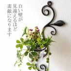 花瓶 花びん ガラス アイアン 花器 一輪挿し おしゃれ 壁飾り インテリア雑貨 壁掛けフラワーベース・ミニ