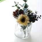 花瓶 花びん ガラス おしゃれ フラワーベース シンプル レトロ アンティーク インドの手づくりガラスベース B