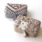 小物入れ アクセサリーケース ふた付き 刺繍 ビーズ かわいい おしゃれ タッセル エレガント 四角 小箱 ミニケース ビーズ刺繍レクタングルボックス2タイプ