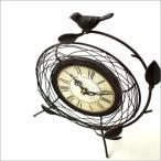 置き時計 置時計 おしゃれ レトロ アナログ アンティークな置時計 B