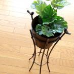 フラワーラック フラワースタンド 花台 アイアン おしゃれ かわいい アンティーク レトロ 鉢カバー 鉢スタンド プランタースタンド 2バードプラントスタンド
