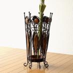 傘立て 傘立 木製 アンティーク おしゃれ アイアンとウッドの傘立て A