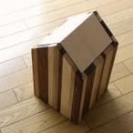 ごみ箱 木製 天然木 おしゃれ シンプル スイング インテリア ナチュラルウッドのダストボックス ハウスB