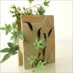 花瓶 花びん 陶器 花器 フラワーベース 和陶器ベース 鉄絵草文