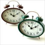 目覚まし時計 目覚し時計 おしゃれ アナログ アンティーク かわいい クラシック レトロ デザイン 置き時計 置時計 アラーム 小さい 目覚まし置時計 2カラー