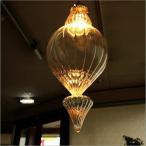 ペンダントライト ガラス おしゃれ アンティーク 北欧 LED対応 大きい キッチン リビング ダイニング シーリングライト ガラスのペンダントライト ロケット
