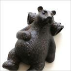 くま クマ インテリアオブジェ 置物 置き物 雑貨 ペーパーウェイト すやすやベアーの置物