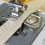 ミシン縫製のガイドに 強力マグネット定規
