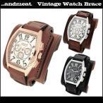 腕時計 レザーウォッチ メンズ ビザン数字 ブランド レザー腕時計 メンズ ブレスレット
