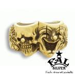エフエーエル リング メンズ ブランド 指輪 ゴールド 18金 K18 トゥーファニーK18リング 24-30号 スカル F.A.L 人気