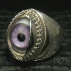 リング メンズ シルバー 義眼 目玉 アイズ 11-27号 ブランド 指輪 シルバー950 メンズリング 義眼リング