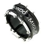 リング メンズ サージカルステンレス ブラック メカニカル 16-22号 ブランド ザニポロタルツィーニ 指輪 メンズリング