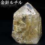 金針ルチルクォーツ 高品質 ポイント 62g 天然石 パワーストーン 原石 置...