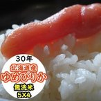 お米 20kg (5Kgx4) 北海道産ゆめぴりか 無洗米 乾式無洗米 送料無料 平成28年産