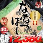 米 30kg 5kg×6袋セット お米 玄米 ななつぼし 北海道 栽培地域限定 JA新すながわ産 特別栽培米 玄米 白米 分づき米 令和元年産 送料無料
