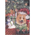 クリスマスカード コーギー 輸入雑貨 犬雑貨 犬グッズ