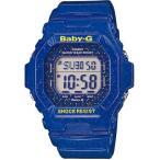 腕時計 レディース カシオ(CASIO) ベビーG(Baby-G) デジタル 5600型 コズミックフェイスシリーズ クォーツ 四角形 ブルー/ブルー色 BG-5600GL-2 / 再検品済