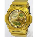 腕時計 メンズ カシオ(CASIO) Gショック(G-SHOCK) 300型 アナデジ ビッグケース クォーツ ゴールド/ゴールド色 GA-300GD-9A / 当店再検品済