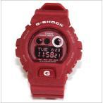 腕時計 メンズ カシオ(CASIO) Gショック(G-SHOCK) 6900型 デジタル クォーツ ヘザード レッド/レッド色 GD-X6900HT-4 / 当店再検品済