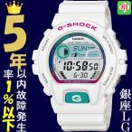 腕時計 メンズ カシオ(CASIO) Gショック(G-SHOCK) 6900型 デジタル Gライド(G-LIDE) クォーツ ホワイト/ブルー色 GLX-6900-7 / 当店再検品済