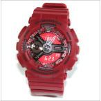 腕時計 メンズ カシオ(CASIO) Gショック(G-SHOCK) Sシリーズ アナデジ レッド/レッド色 GMAS110F-4A GMA-S110F-4A / 当店再検品済