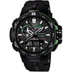 腕時計 メンズ カシオ(CASIO) プロトレック(PRO TREK) タフソーラー 電波 デジタル グリーン/ブラック色 PRW6000Y-1A PRW-6000Y-1A / 当店再検品済
