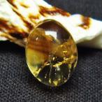 シトリン水晶 ルース t358-1310