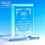 表彰状 表彰楯 クリスタル トロフィー ゴルフコンペ スポーツ 優勝 スクエア NKTR-0008-1(大) 彫刻代込み商品