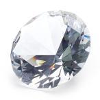 クリスタルガラス ダイヤモンド クリア大80Φ  ディスプレイ インテリア サンキャッチャー