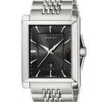 グッチ GUCCI 腕時計 G-タイムレス コレクション ミディアム レクタングル YA138401 BK/SS