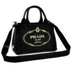プラダ PRADA 2WAYハンドバッグ CANAPA-OOX 1BG439 NERO