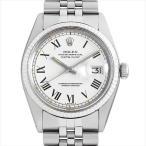 48回払いまで無金利 ロレックス デイトジャスト 1601 ホワイト/バー 27番 アンティーク メンズ 腕時計