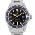 48回払いまで無金利 ロレックス シードゥエラー 1665 赤シード マークIII 34番 アンティーク メンズ 腕時計