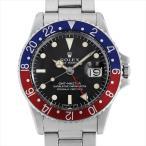 ロレックス GMTマスター 赤青ベゼル 31番 1675 アンティーク メンズ 腕時計