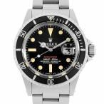 【48回払いまで無金利】ロレックス サブマリーナ デイト 33番 1680 赤サブ アンティーク メンズ 腕時計